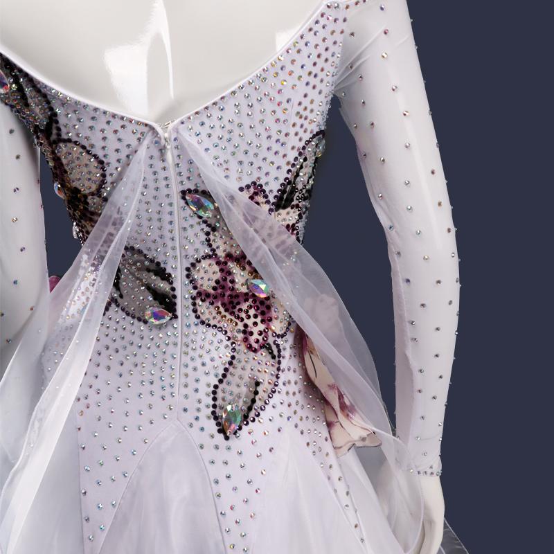 【オーダーメイド対応 】社交ダンスドレス・モダンドレス・ラテン衣装・競技用(ecsb0506)