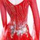 【オーダーメイド対応 】社交ダンスドレス・モダンドレス・ラテン衣装・競技用(ecsb0508)
