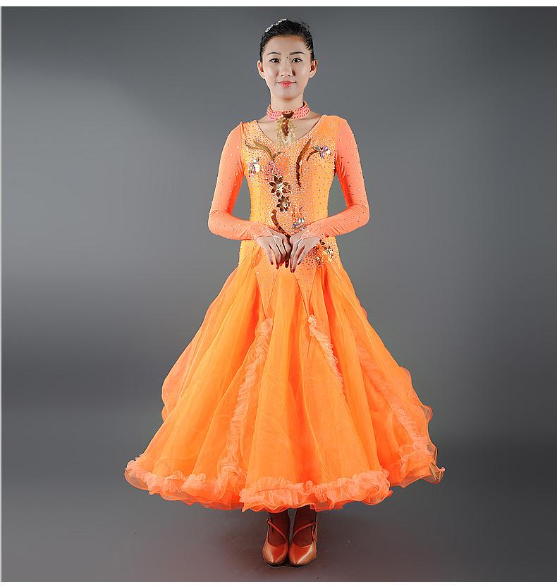 【オーダーメイド対応 】社交ダンスドレス・モダンドレス・ラテン衣装・競技用(ecsb0512)