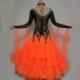 【オーダーメイド対応 】社交ダンスドレス・モダンドレス・ラテン衣装・競技用(ecsb0526)