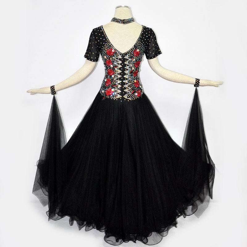 【オーダーメイド対応 】社交ダンスドレス・モダンドレス・ラテン衣装・競技用(ecsb0529)