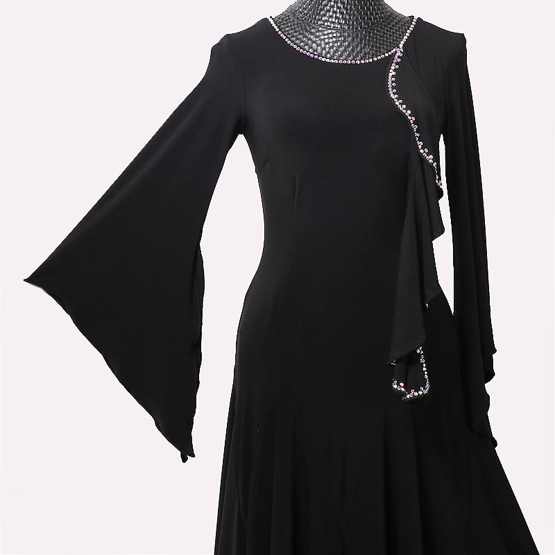 社交ダンスドレス・モダンドレス・ラテン衣装・競技用(ecsb0636)