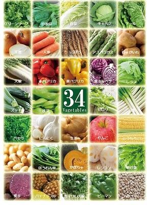 野菜34種&米こうじ入り スープ 7種7個セット