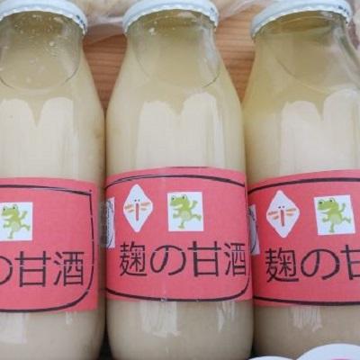 麹の甘酒 180ml 6本セット