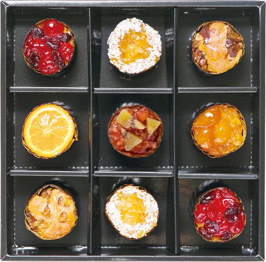 【宅配料込み】ホシフルーツ フレンチカップケーキ 9個