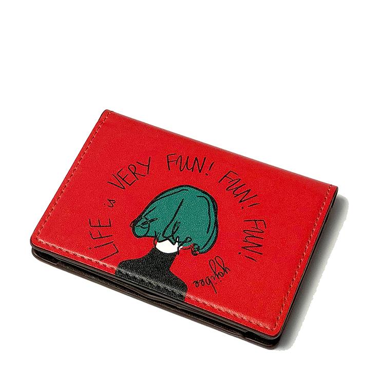 """カードケース・""""HAPPY_RED"""""""
