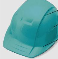 トーヨーセフティー  超軽量通気孔付きヘルメット No.360F  ABタイプ《飛来・落下物用+墜落時保護用》(1個)
