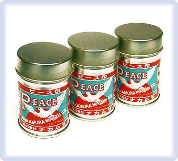 ピース印 アウトドア・スチール缶マッチ(10缶入)