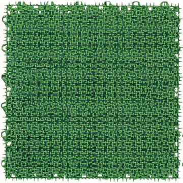 ワタナベ工業製 人工芝 ジョイント人工芝 システムターフ 300mm×300mm RT-30-GR グリーン 60枚 ジョイントターフ システム人工芝