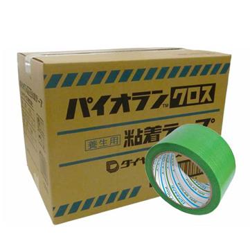 ダイヤテックス パイオラン 塗装養生用 強粘着テープ グリーンテープ Y09GR/クリアテープ Y09CL 50mm×25m 60巻