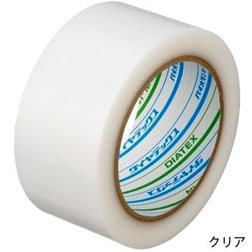 ダイヤテックス パイオラン 塗装養生用 強粘着テープ グリーンテープ Y09GR/クリアテープ Y09CL 50mm×25m 90巻