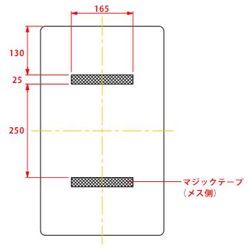 omoio オムツっ子 取り替えマット【FA2用】 TS-FA2-M オムツ交換台用のマット スタンドタイプ 壁付けタイプ ダストボックス付きおむつ交換台