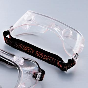 トーヨーセフティー 防じんメガネ ゴーグル型 1280 ベンチレーション付き トーヨーセーフティ 防塵メガネ 防じん眼鏡 ゴーグル 透明レンズ