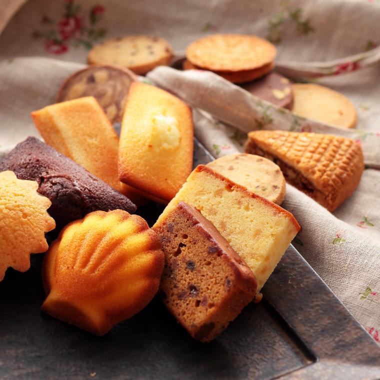 クッキーと焼き菓子の詰め合わせF