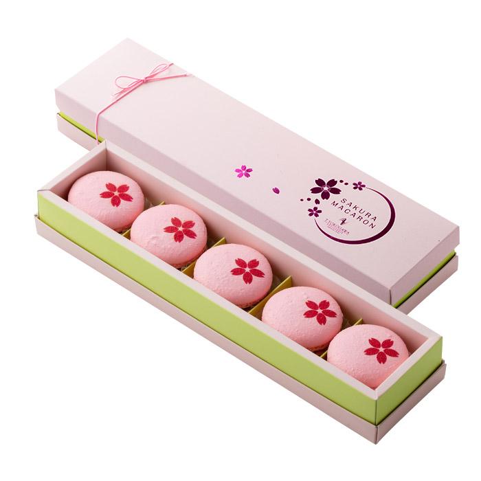 Whiteday【店頭受取】桜マカロン