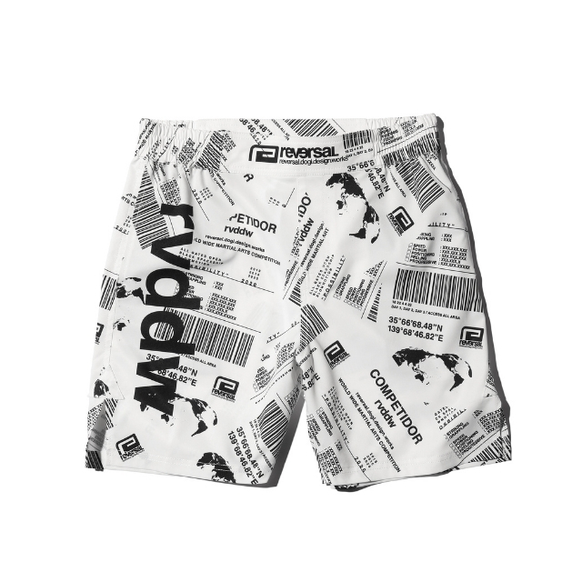 WMC BARCODE SLIT ACTIVE SHORTS w/POCKET