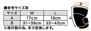 L-0016 フォームラバー ニーガード