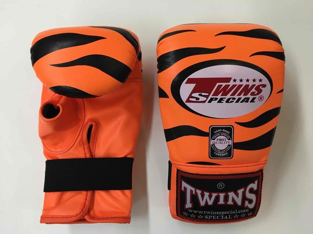 TWINS パンチンググローブ Tiger Orange/Black