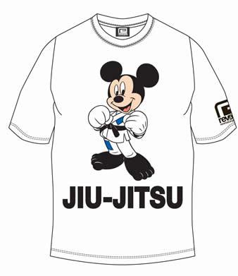 ミッキーマウス 柔術 Tシャツ