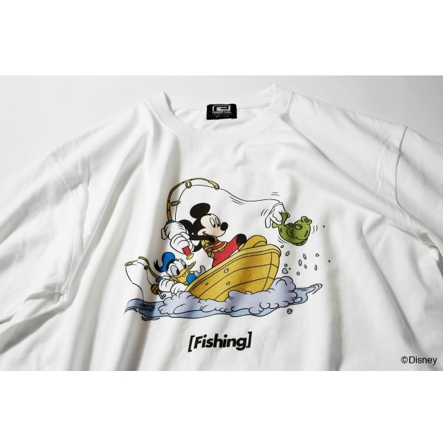 〈Mickey Mouse〉 Fishing TEE
