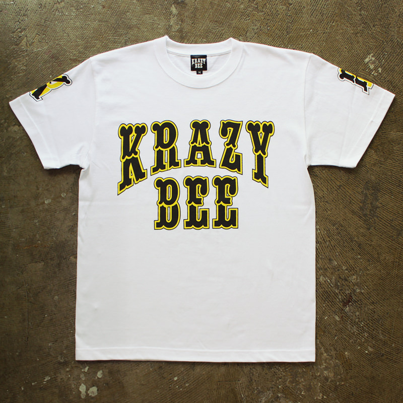 KRAZY BEE ORIGINAL LOGO TEE