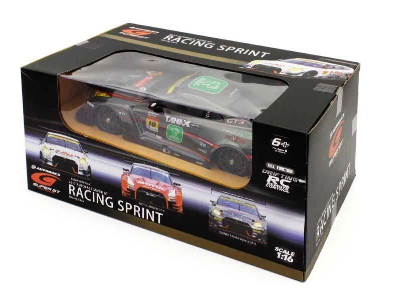京商製 R/C 1/16 ドリフトレーシングGAINER TANAX triple a GT-R 4WD(黒)