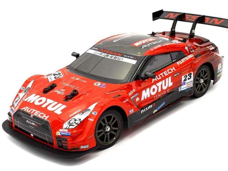 京商製 R/C 1/16 ドリフトレーシングMOTUL AUTECH GT-R 4WD(赤)
