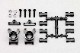 YZ-2シリーズ用 アルミ製 リヤハブキャリア