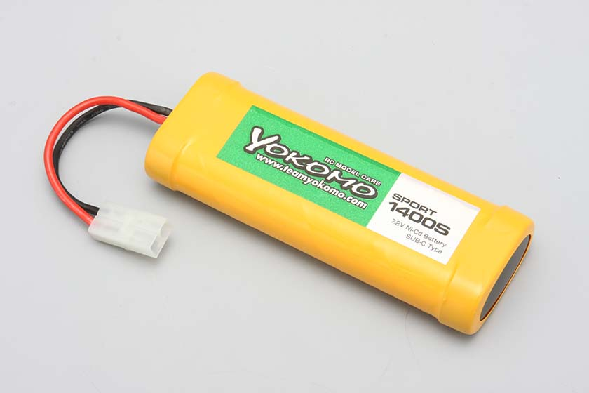 ヨコモ スポーツ 1400S バッテリー (12本セット)