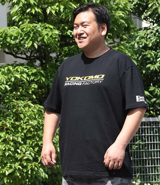 ヨコモ ファクトリー Tシャツ (XLサイズ)
