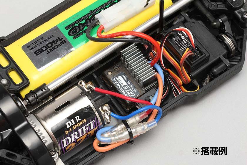 ブラシモーター用スピードコントローラーSCR-BR