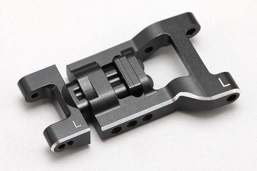 YD-2/YD-4用 可変式 リヤ ショート H アームセット (アルミ製・面取加工済)