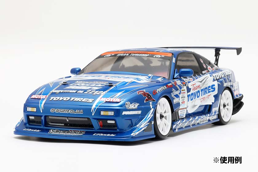 Team TOYO TIRES DRIFT with GP SPORTS 180SX デカールセット