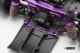 YD-2用アルミ製アジャスタブル サスマウント セット(パープル/面取加工済)