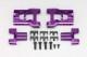 YD-2用 アルミ製可変式 リヤ ショートHアーム (パープル仕様/面取加工済)