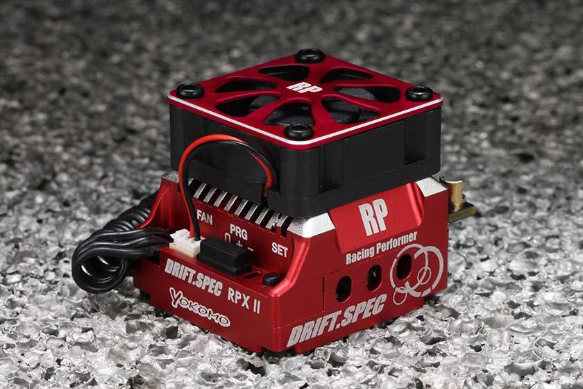 レーシングパフォーマー RPX-II ドリフトスペック スピードコントローラー(レッドバージョン)