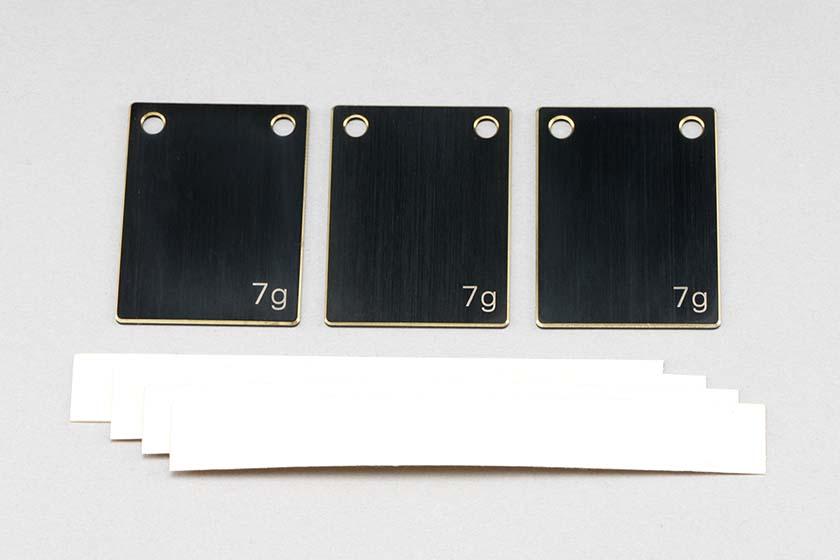 BD9用 マルチ ウエイト プレート(7g×3枚入)