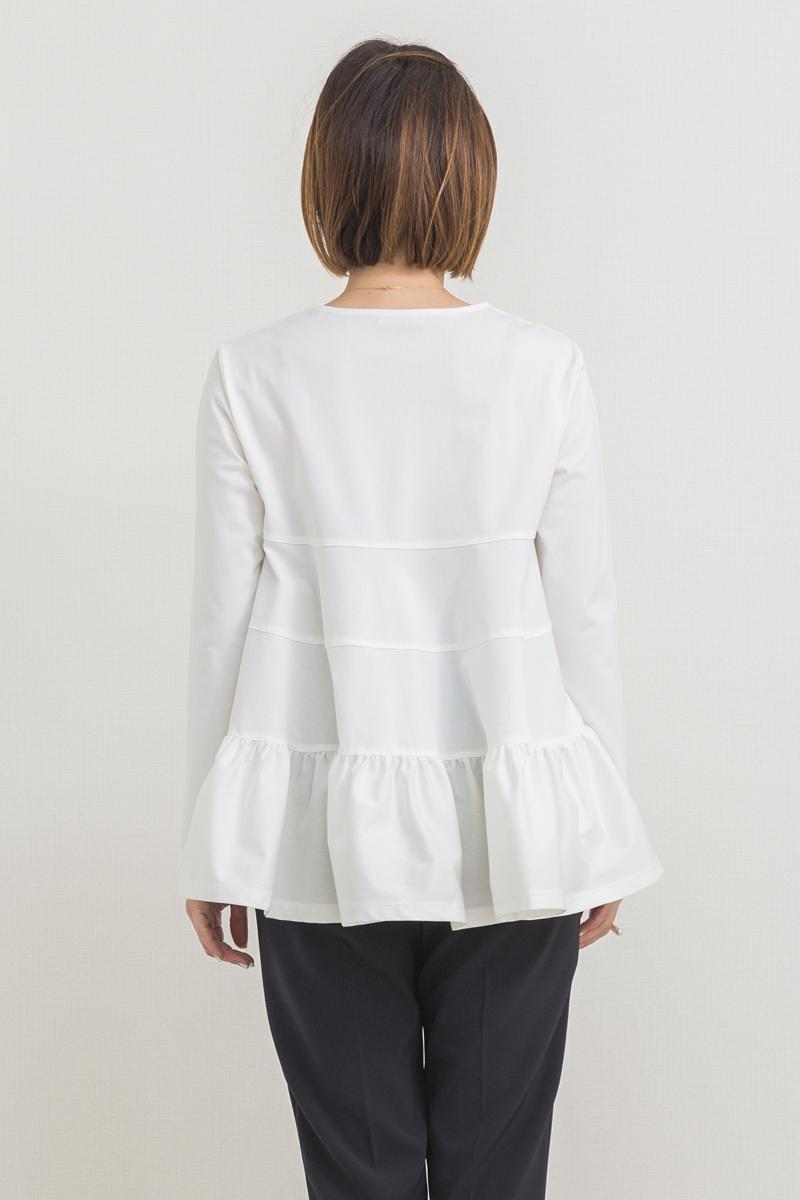 セレモニーティアードカットソー【2021SP】