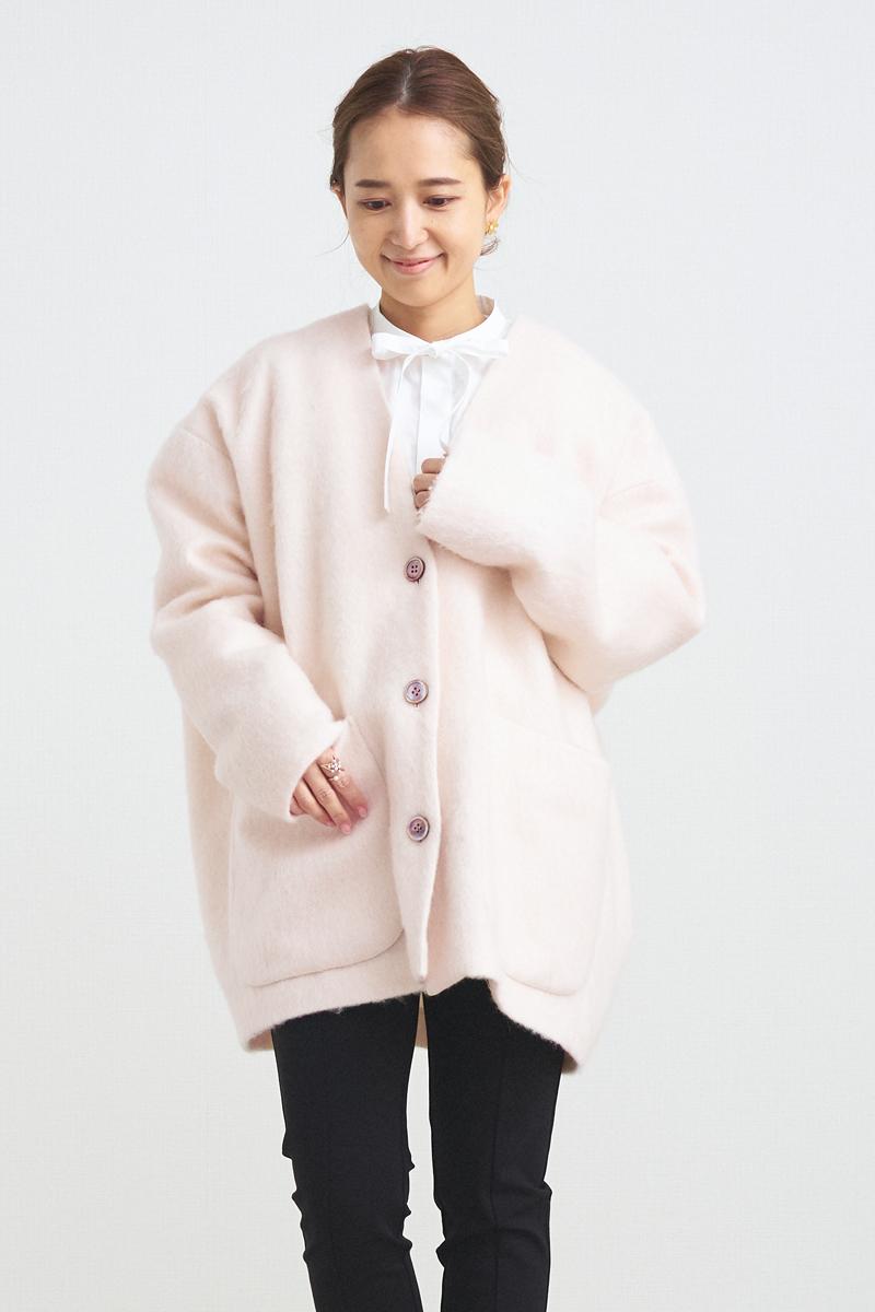 ウールモヘアシャギージャケット【2021AW】10/27pm21:00〜発売