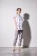 【shirocon】ループ刺繍セーラーブラウス【2021SM】