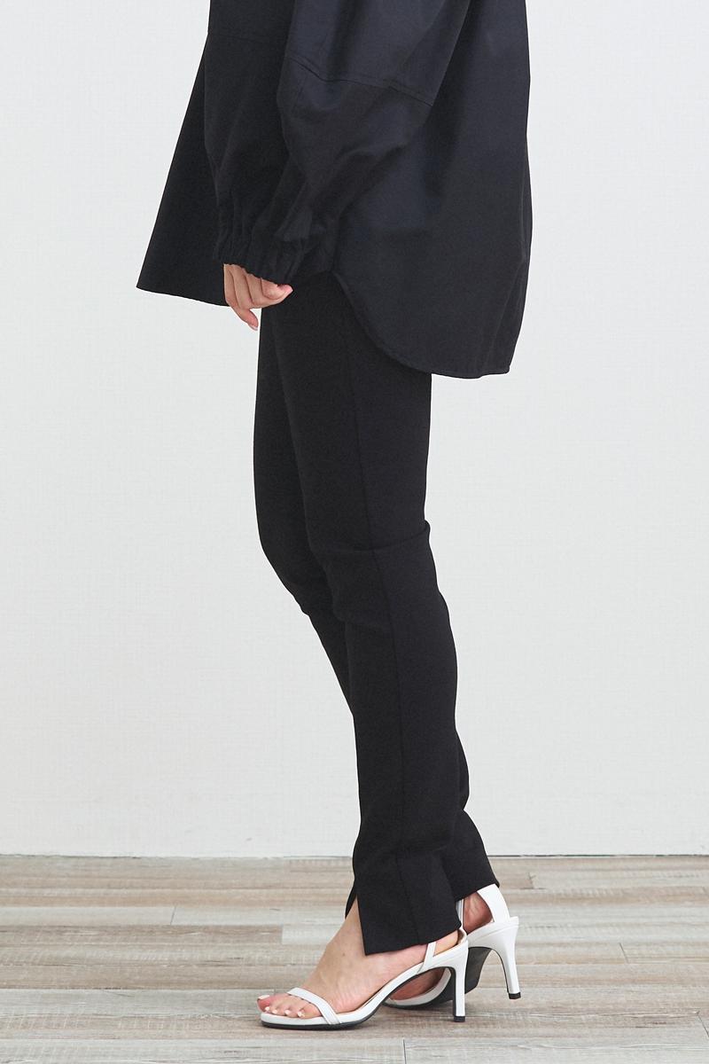 ぬくぬくフロントスリットレギパン【2021AW】11月上旬発売予定