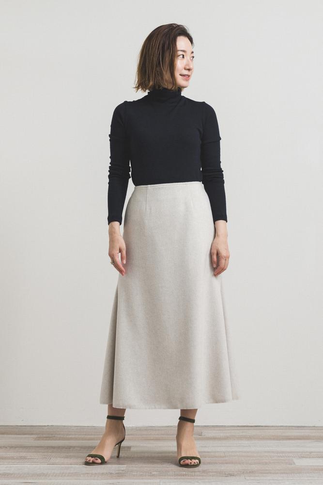 【2020AW】ウールマーメードスカート