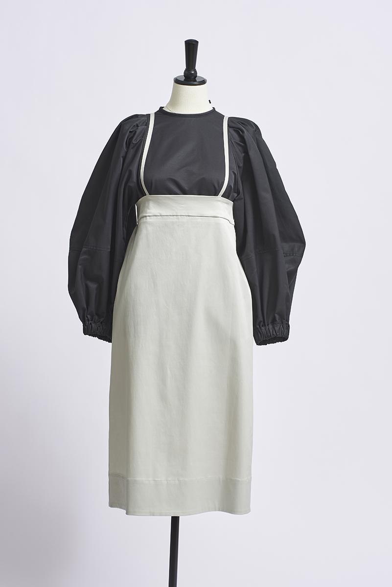 ハイウエストIラインスカート【2021AW】