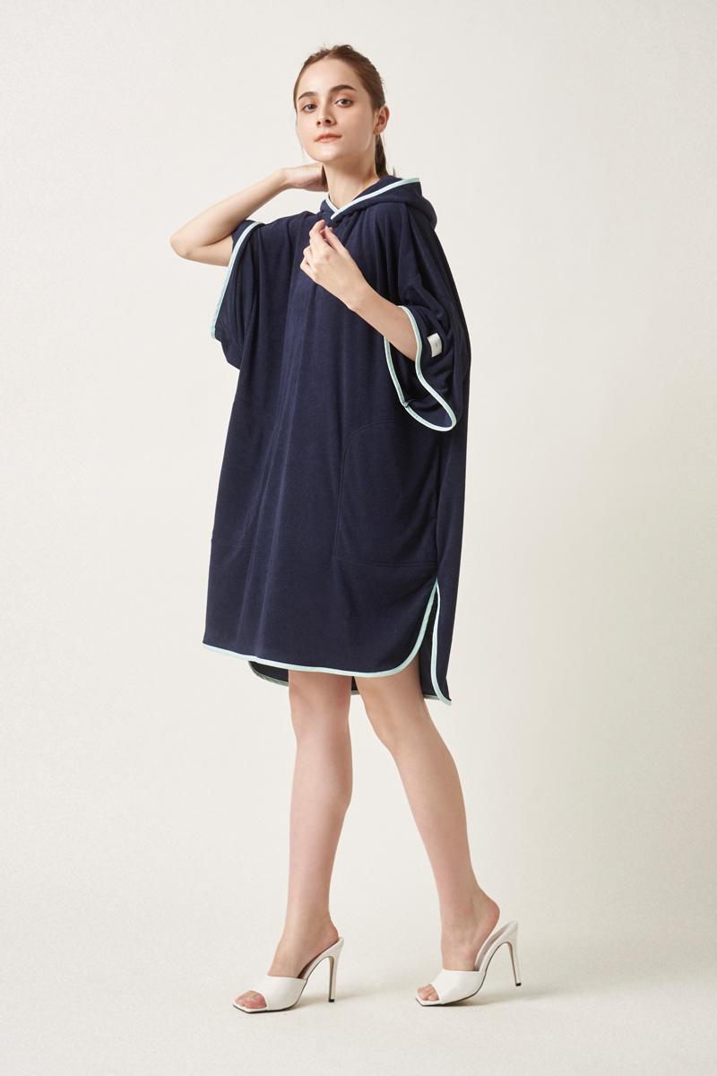 【mizugiwa】タオルケットポンチョ【2021SP】4/12 21:00〜発売!