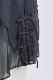 【shirocon】セーラーオーガンジーブラウス【2021AW】