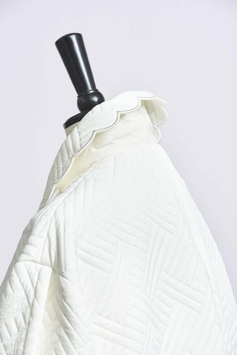【shirocon】もくもくキルトジャケット【2021AW】