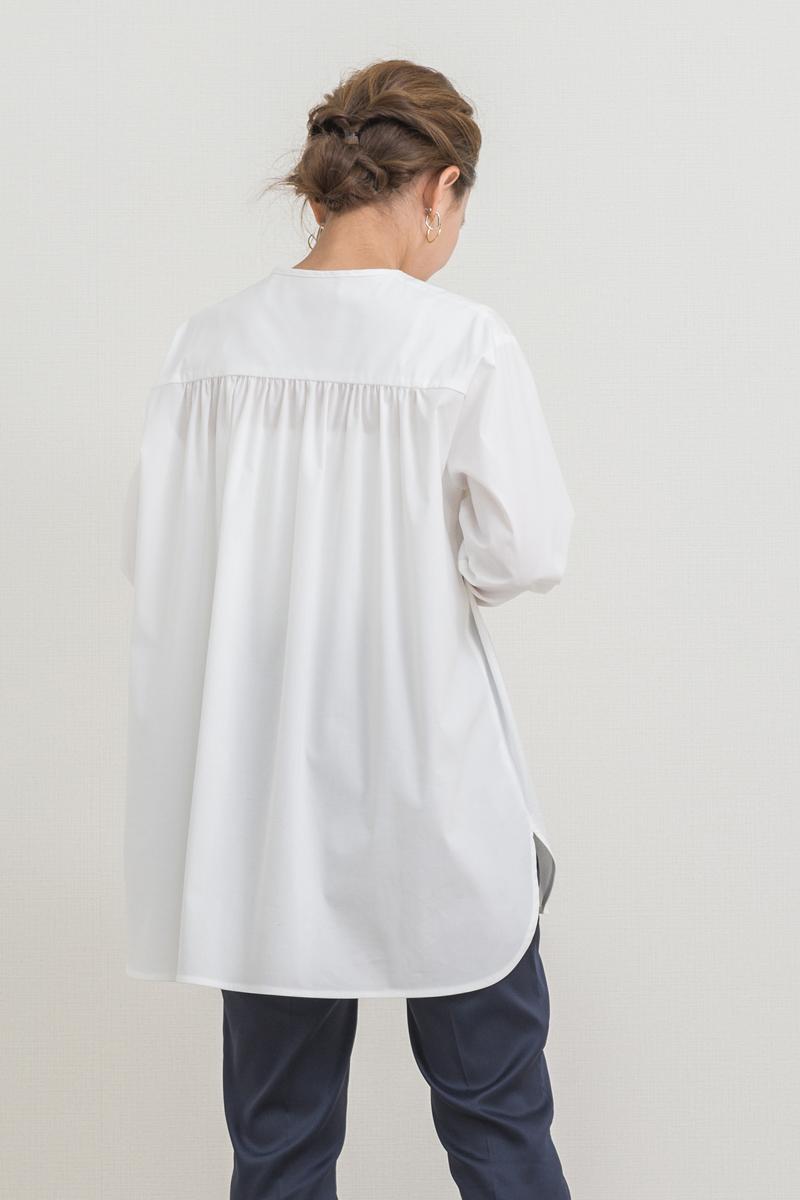 ノーカラードレスシャツ【2021SP】