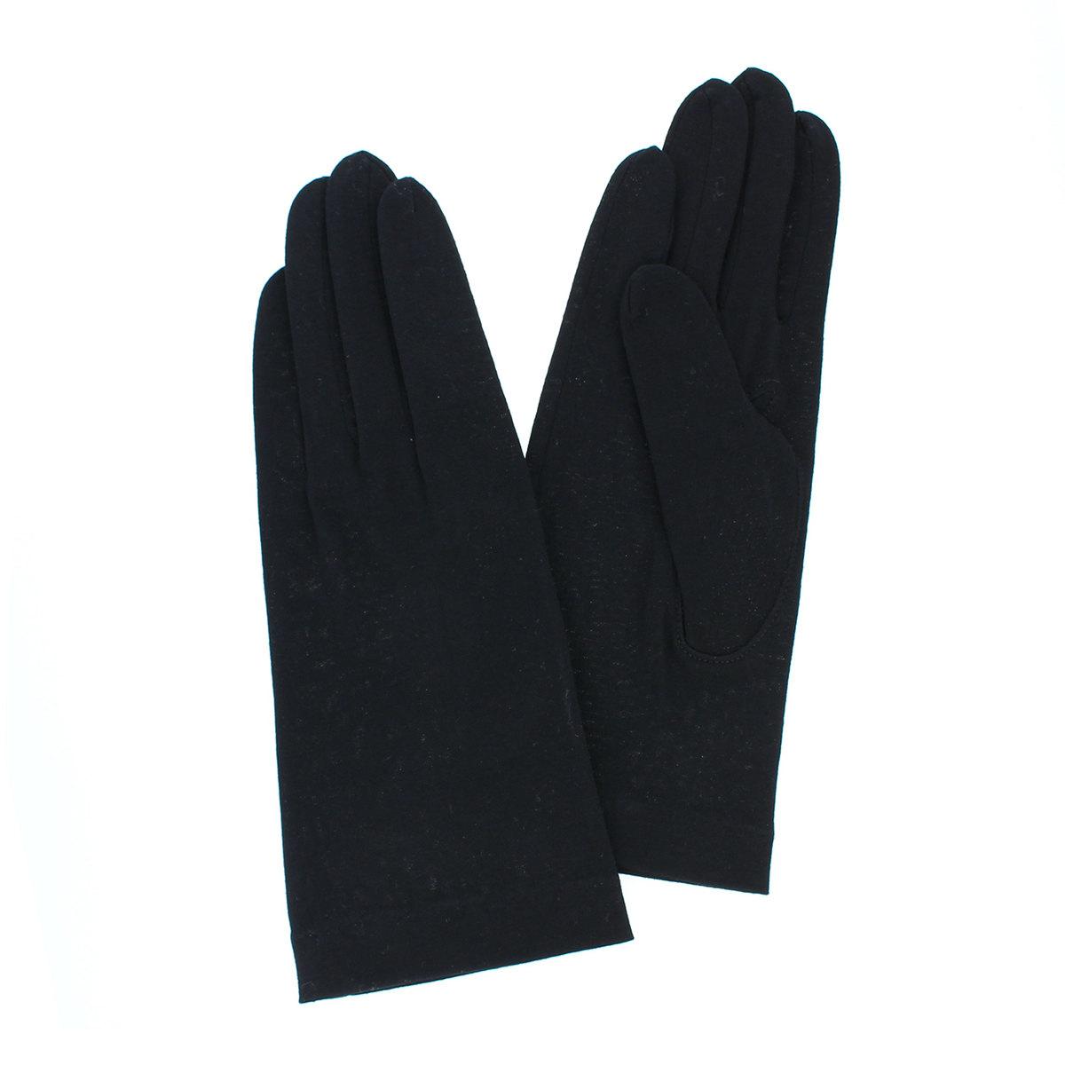レディース UV手袋 抗菌 抗ウイルス 雑菌抑制 消臭 花粉対策 敏感肌対応 肌にやさしい 綿100% UVカット 五本指手袋 汚れ分解 ヨークス ショート丈 23cm