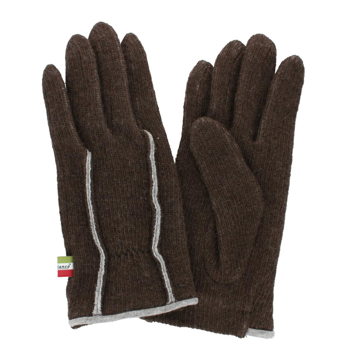 オロビアンコ 肌触り柔らか ニット風ジャージ メンズ手袋 日本製 Mサイズ 全4色