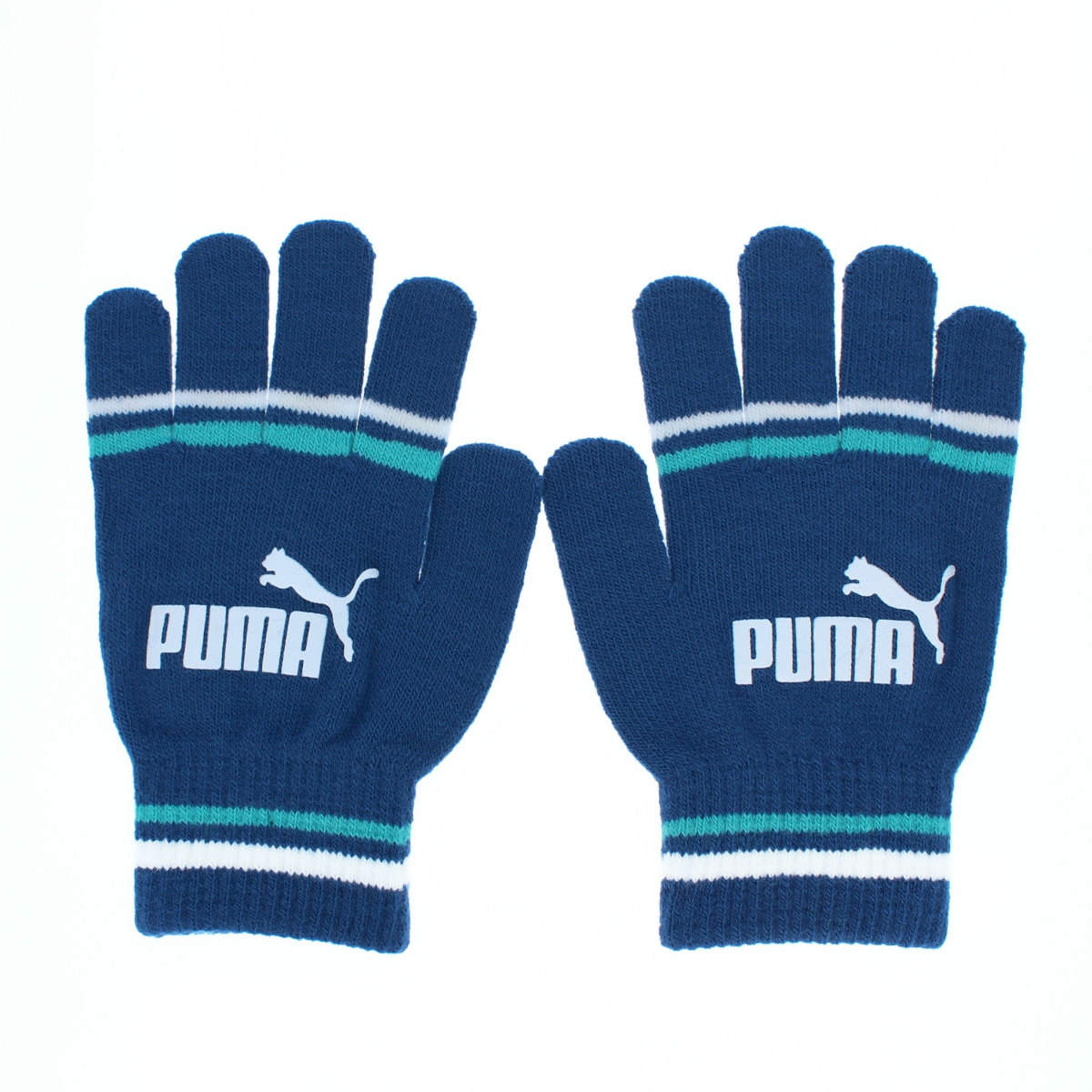 PUMA マジックグローブ プーマ ボーイズ サッカー スポーツ のびのび ニット手袋 すべり止め付き キッズ Sサイズ 小学校低学年